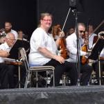 Konsertmästare Alfhild Medelius Stadsfestkonsert 2017